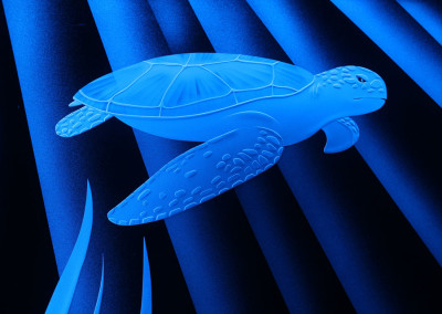 Etched-Glass-LED-Turtle