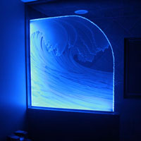 Illuminated-Carved-Glass-Shower
